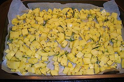 Bratkartoffeln aus dem Backofen 21