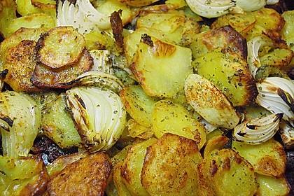 Bratkartoffeln aus dem Backofen 12