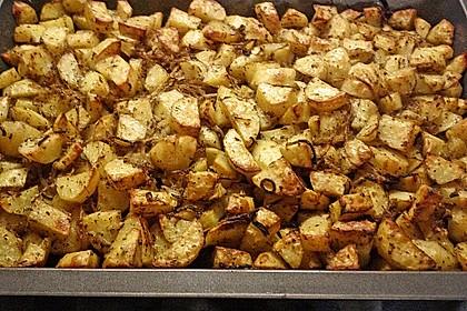 Bratkartoffeln aus dem Backofen 14