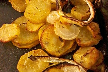 Bratkartoffeln aus dem Backofen 22