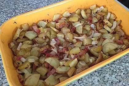 Bratkartoffeln aus dem Backofen 6