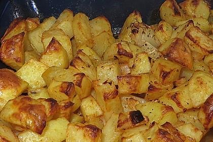 Bratkartoffeln aus dem Backofen 2