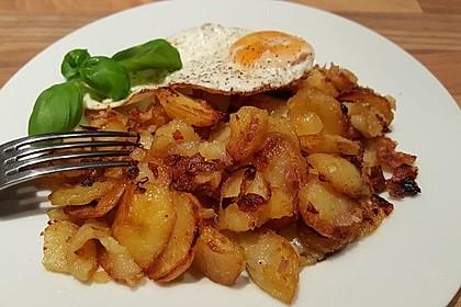 Bratkartoffeln aus dem Backofen 3