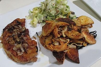 Bratkartoffeln aus dem Backofen 9