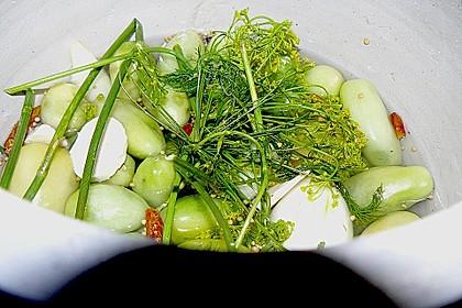 Töginger grüne Tomaten süß - sauer