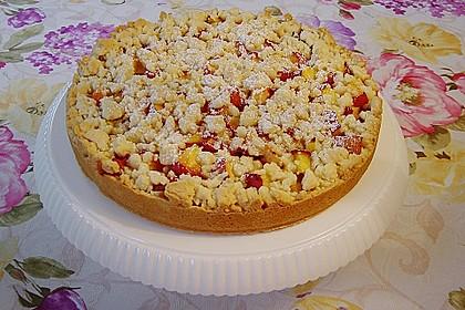 Obstkuchen mit Streuseln 9