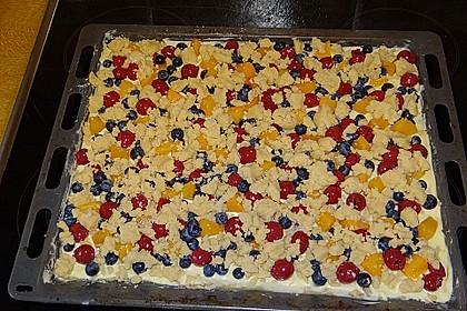 Obstkuchen mit Streuseln 11