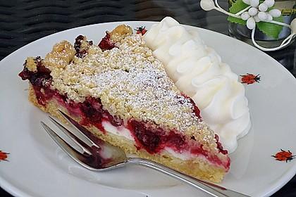 Obstkuchen mit Streuseln 1