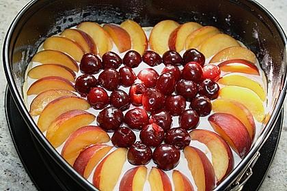 Obstkuchen mit Streuseln 4