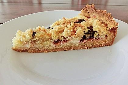 Obstkuchen mit Streuseln 8