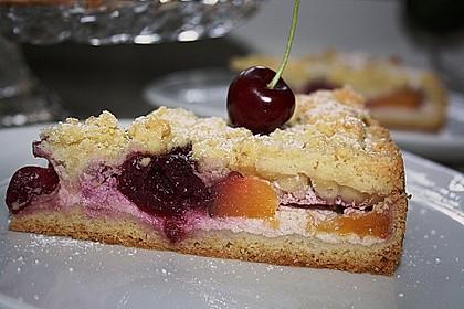 Obstkuchen mit Streuseln 5