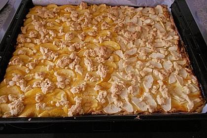 Obstkuchen mit Streuseln 20