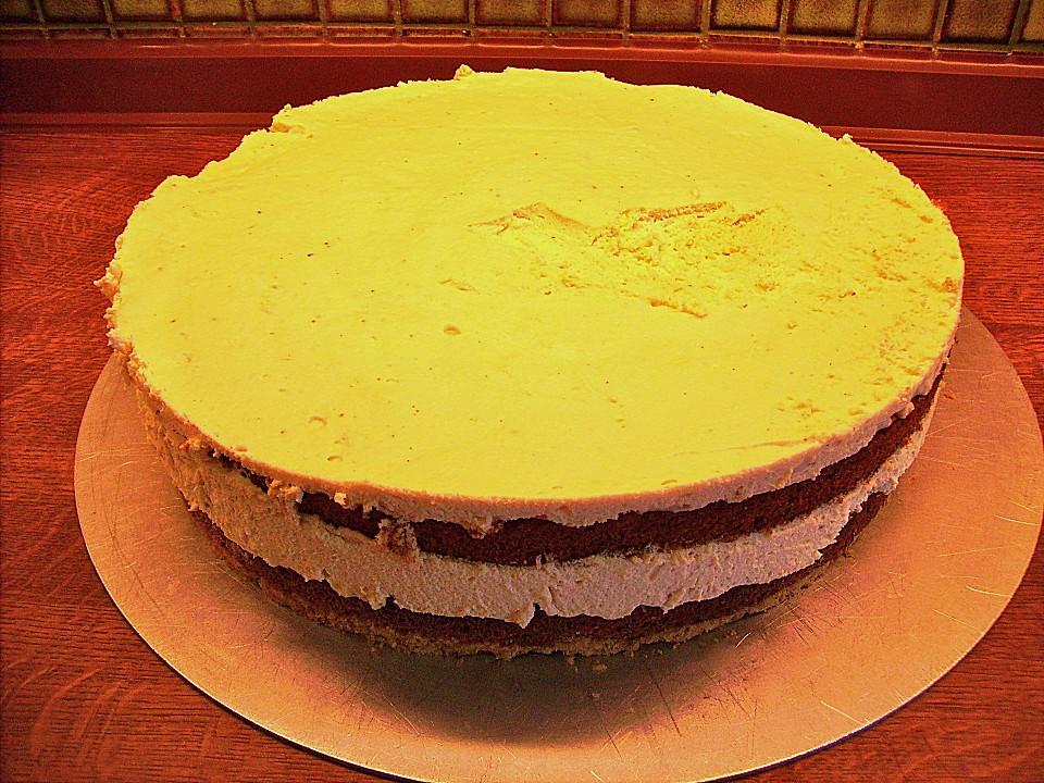 karamell sahne torte rezept mit bild von ep1312. Black Bedroom Furniture Sets. Home Design Ideas