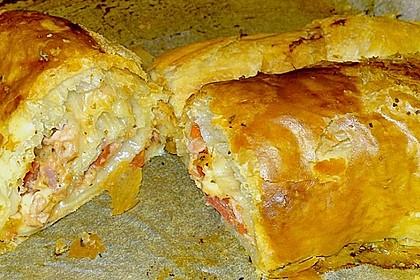 Schinken - Tomaten - Mozzarella - Strudel 27