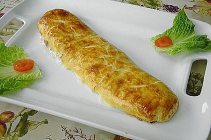 Schinken - Tomaten - Mozzarella - Strudel 10