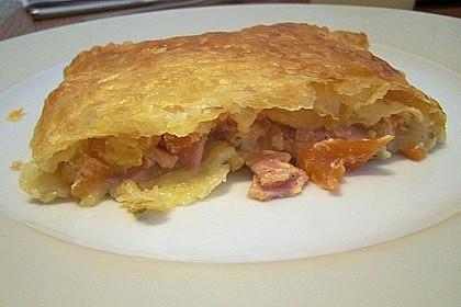 Schinken - Tomaten - Mozzarella - Strudel 13