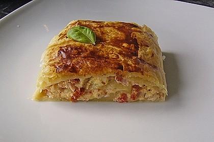 Schinken - Tomaten - Mozzarella - Strudel 4