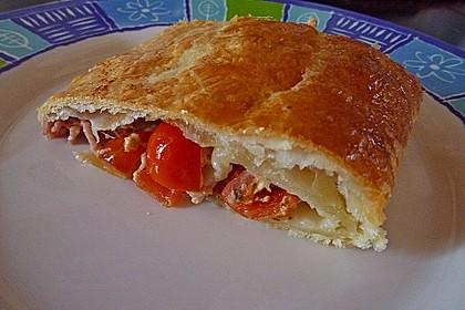 Schinken - Tomaten - Mozzarella - Strudel 14