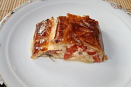 Schinken - Tomaten - Mozzarella - Strudel 6