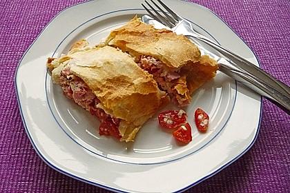 Schinken - Tomaten - Mozzarella - Strudel 9
