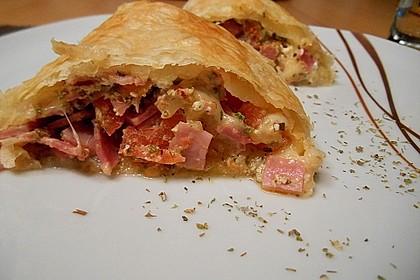 Schinken - Tomaten - Mozzarella - Strudel 1