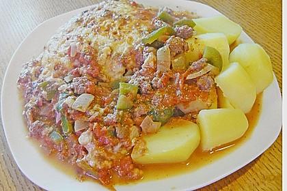 Ofenschnitzel alla bolognese 7