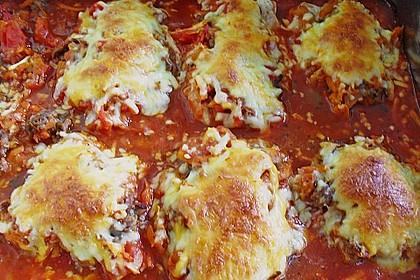 Ofenschnitzel alla bolognese 5