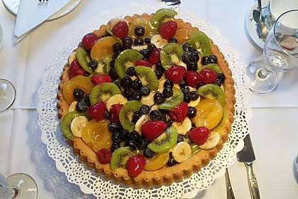 Schneller Biskuit für Obstkuchen 10