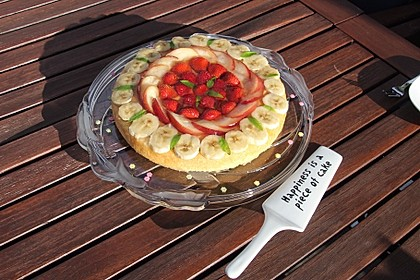 Schneller Biskuit für Obstkuchen 6