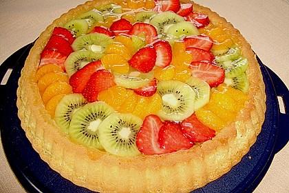 Schneller Biskuit für Obstkuchen 15
