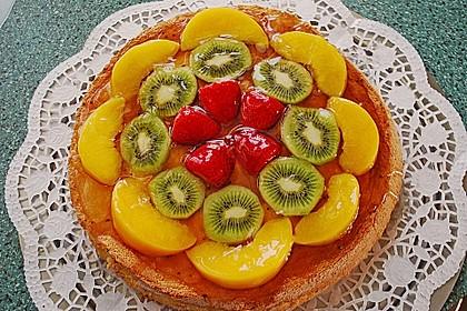 Schneller Biskuit für Obstkuchen 24