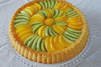 Schneller Biskuit für Obstkuchen 1