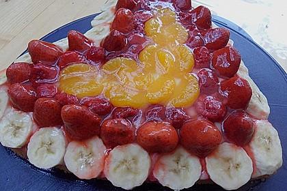 Schneller Biskuit für Obstkuchen 74