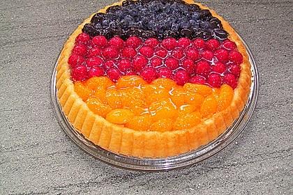 Schneller Biskuit für Obstkuchen 8