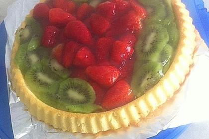 Schneller Biskuit für Obstkuchen 73
