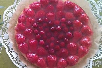 Schneller Biskuit für Obstkuchen 16