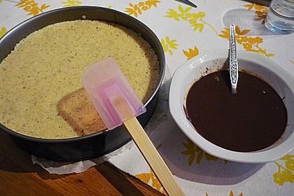 Schokokuchen mit Grieß - Kokos - Füllung 14