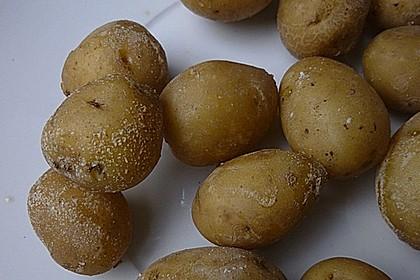 Kartoffeln in Salzkruste mit Knoblauchdip 1
