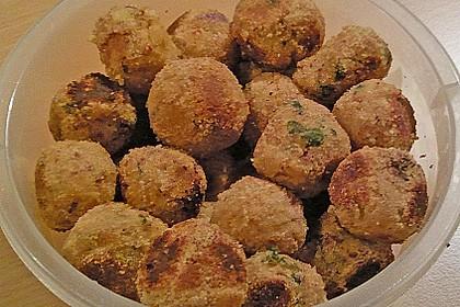 Falafel aus rohen Kichererbsen 4