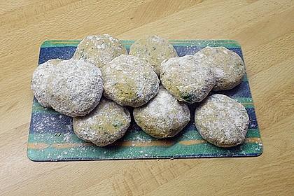 Falafel aus rohen Kichererbsen 3