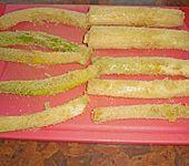 Illes gebratener Lauch als Gemüsebeilage oder Snack (Bild)