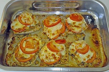 Schnitzel florentiner Art 1