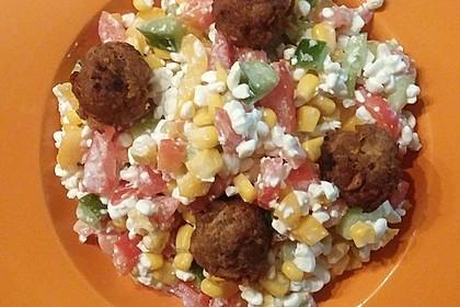 Hüttenkäse - Salat 24