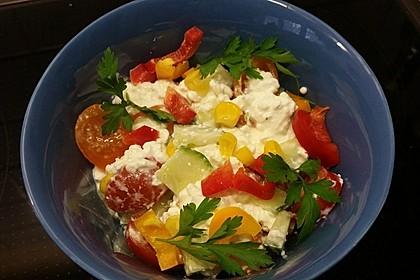 Hüttenkäse - Salat 35