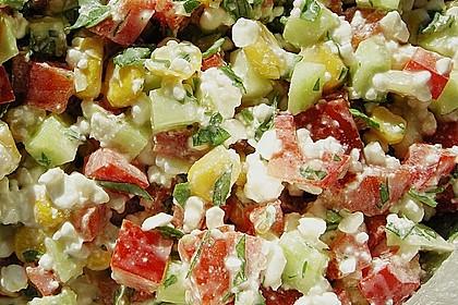 Hüttenkäse - Salat 6