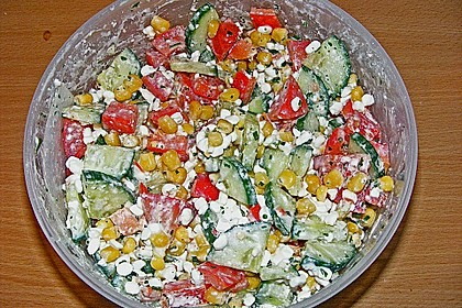 Hüttenkäse - Salat 54
