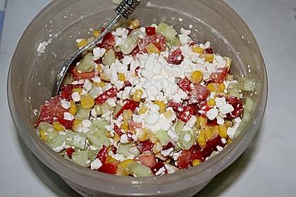 Hüttenkäse - Salat 32