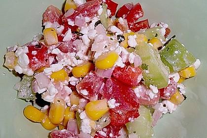 Hüttenkäse - Salat 47