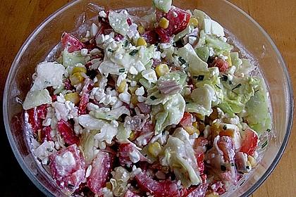 Hüttenkäse - Salat 48