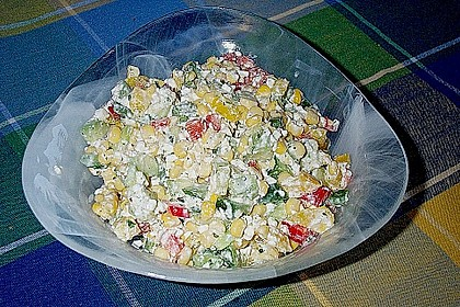 Hüttenkäse - Salat 57